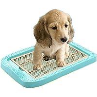 BABYS'q Baño del Animal Doméstico, Tocador del Perro, Entrenamiento Que Limpia con La Estera del Animal,Blue,M
