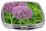 Rikki Knight Compact Mirror, Purple Allium Flowers Amazon