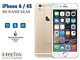 iPHONE 6 / 6S PANZER GLAS - 9H DISPLAY SCHUTZ PANZER GLAS, ECHT GLAS FOLIE :: i-tecfox