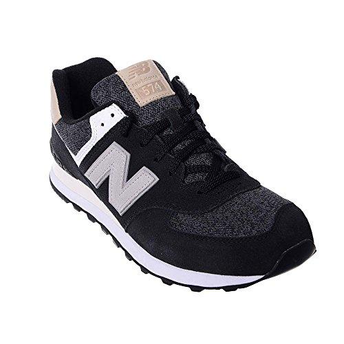 New Balance Herren 574 Sneaker Schwarz/Grau (VAI-BLACK) jB5tn
