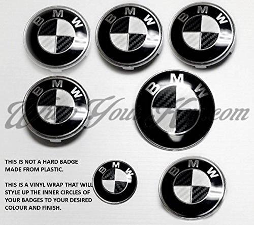 white-black-carbon-fiber-bmw-badge-emblem-overlay-hood-trunk-rims-fits-all-bmw