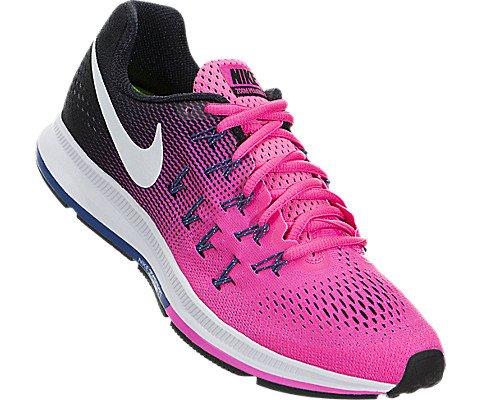 Nike Women's Wmns Air Zoom Pegasus 33 Running Shoes, Pink-Rosa (Pnk Blst / White-Blk-Dk Prpl Dst), 3.5 UK (36.5 EU)