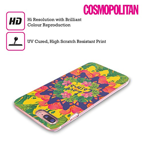 Official Cosmopolitan Lovey Tropical Hard Back Case for Apple iPhone X Kaleidoscope