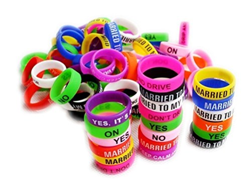 30 pcs Silikon Vape Bands 21 mm