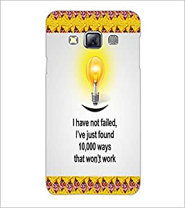 PrintDhaba Quote D-5011 Back Case Cover for SAMSUNG GALAXY A3 (Multi-Coloured)