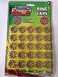 8 Shot Caps - 25 rings per card [Toy]