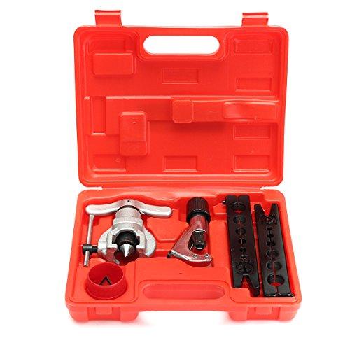 Kupfer Flare (Wchaoen Exzenter-Flare-Werkzeug Bördelwerkzeug-Kit Abkühlung Kupfer Deburing Bender Werkzeugzubehör)
