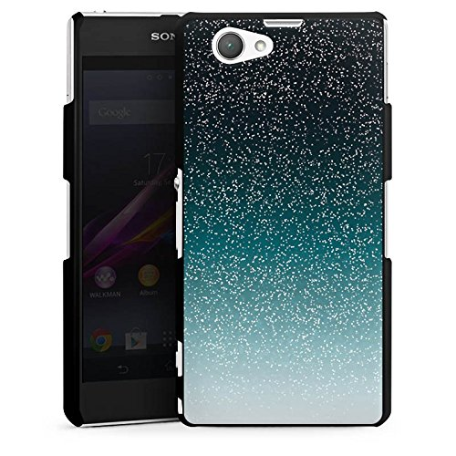 sony-xperia-z1-compact-hulle-schutz-hard-case-cover-glitzer-glitter-muster