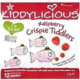 Kiddylicious Framboise Crispie Tiddlers 12 Mois + 12G
