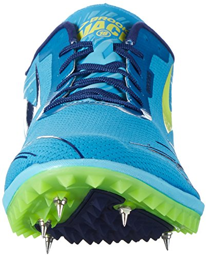 Brooks Mach 18, Chaussures de Running Compétition Homme Turquoise (Methyl Blue/Blue Atoll/Nightlife)