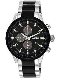 Timex E-Class Chronograph Black Dial Men's Watch - TW000Y405