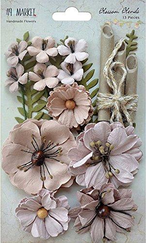 49und Markt Blossom vereint, Mehrfarbig, 13,2x 19.55X 1,34cm Bb Blossom