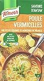 Knorr Saveurs d'Antan Soupe Poule Vermicelles Petits Légumes 1l - Lot de 4