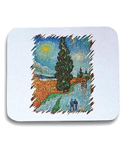 t-shirtshock-tappetino-mouse-pad-tda0099-van-gogh51-viale-di-cipressi-sotto-il-cielo-stellato-taglia