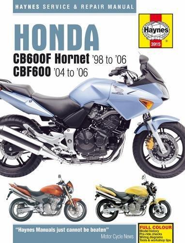 Honda CB600F Hornet por Phil Mather