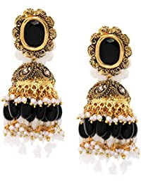 3656afcdae41e Jhumki Women's Earrings: Buy Jhumki Women's Earrings online at best ...