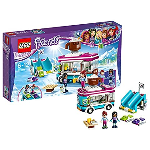 LEGO UK 41319 Snow Resort Hot Chocolate Van Construction