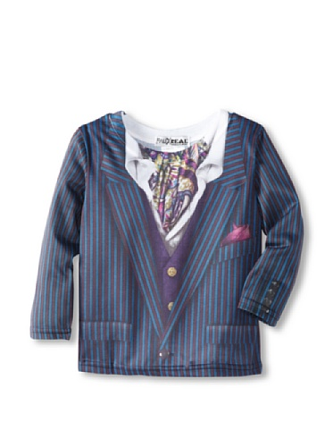 Grave Digger Kinder Kostüm - Faux Real Kids Pin Stripe Suit