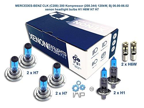 Xenon Effekt Auto Lampen Scheinwerfer H1H6W H7H7, 8er Pack