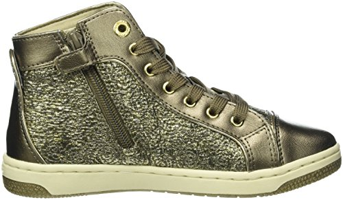 Geox Creamy E, Sneakers Hautes Fille Gold (DK GOLDC2016)
