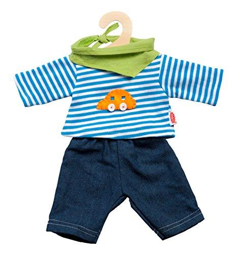 Heless 2315 Unisex Baby Kostüm Jeans mit gestreiftem Hemd, 35-45 ()