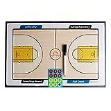 Andux Zone Basket/calcio allenatore magnetico Pensione addestramento tattico con un pennarello cancellabile ZUB-01 (allenatore di Basket)