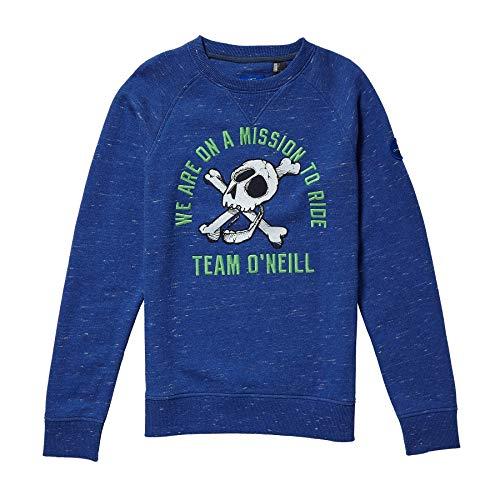 O'Neill Jungen Kinder The Ride Sweater Boys Sweatshirts, Surf Blue, 164 Ride Herren Pullover