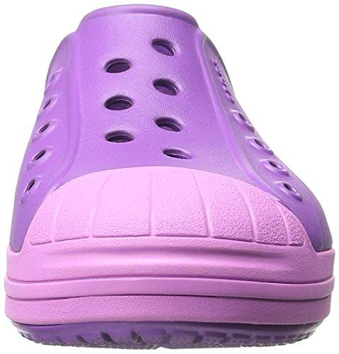 CrocsBumper Toe - Stivaletti Unisex per bambini Viola (Amethyst/Wild Orchid)