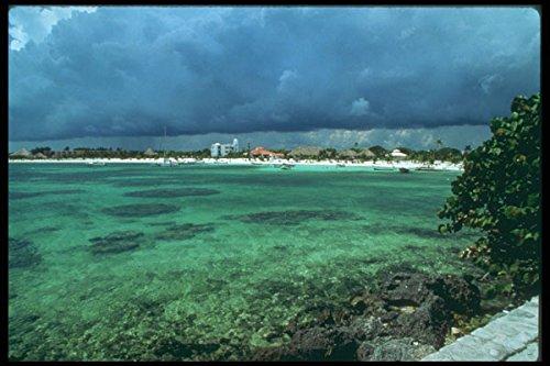 264098 Waterfront Akumal Mexico A4 Photo Poster Print 10x8