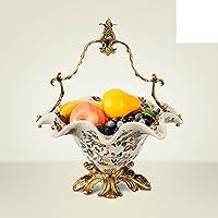 European-style rame frutta cesto ornamenti in ceramica/Moda