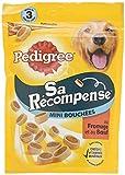 Pedigree Sa Récompense Friandises pour Chien Adulte, un Sachet de 140g de Mini Bouchées  - Pack de 6