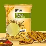 JIWA healthy by nature Thepla Atta (4.5 Kg/900 g x 5) - Set of 5