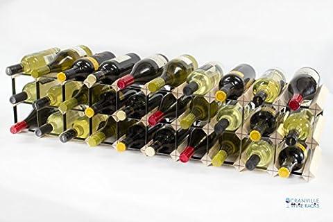Classique 20/30 armoire de bouteilles haut bois de pin et