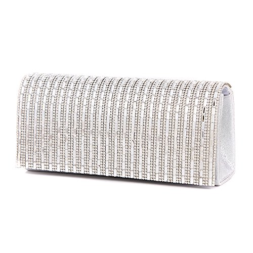 S Lady Clutches - Modern Donna silver