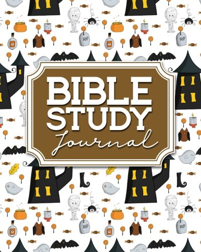 Bible Study Journal: Bible Journal For Teens, Bible Study Journals To Write In, Bible Notes, Bible Verse Planner, Cute Halloween Cover