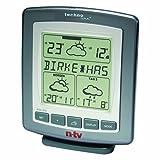 Technoline WetterDirektStation WD 9565n-tv, Grau-silber, 2-teilig bestehend aus Station und Sensor