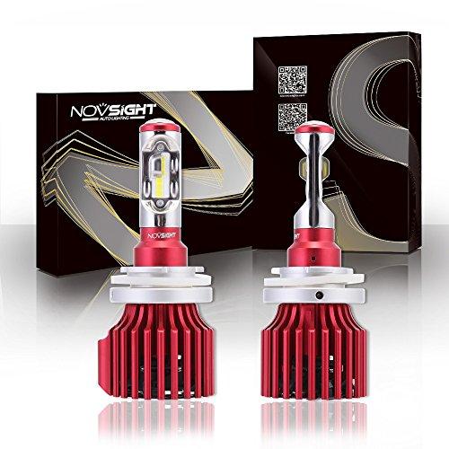 Preisvergleich Produktbild NOVSIGHT H15 LED-Scheinwerferlampen Glühbirne 60W (30Wx2) 10000LM/Paar Auto Lampe Ersetzen
