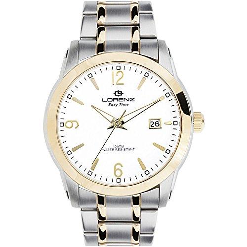 Reloj hombre Lorenz Easy Time IP dorado