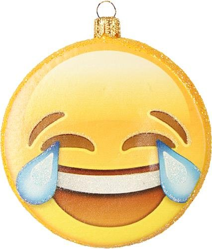 Christbaumschmuck Figur Emoji // Glas Smileys Weihnachtsschmuck Christbaumkugeln Baumschmuck Deko //Christbaumschmuck Figuren Tiere ( 7.5cm Emoji Nr. 4 ) Christbaumkugeln Weihnachtskugeln Weihnachts-Baumschmuck Baumkugeln Deko Luxus (7.5cm Emoji Nr. 4)
