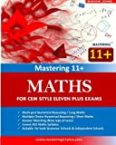 Mastering 11+ : Maths / Numerical Reasoning - Practice Book 1