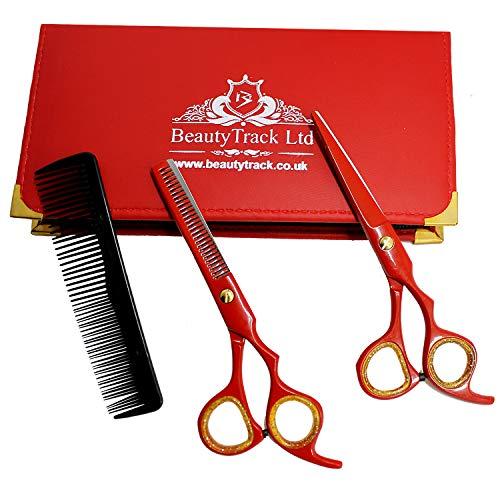 Friseurschere, 6 Zoll, professionelle Friseurschere, Friseurschere und Friseurschere, ideal zum Schneiden von Haaren mit Stil.