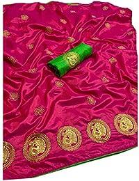 Vaankosh Fashion Embroidered Saree with Blouse Peice