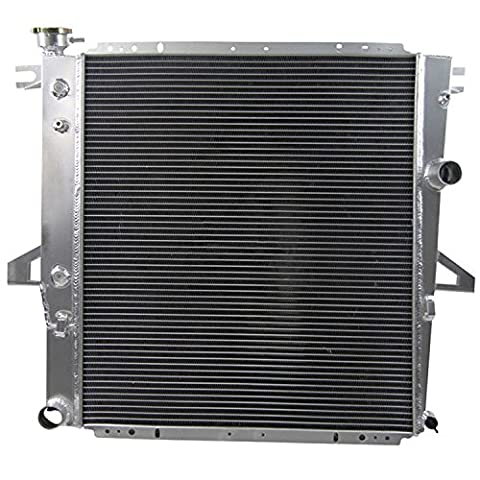 GOWE Auto Replacement Parts Cooling System 3 ROW Aluminum Radiator