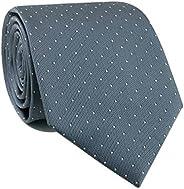"CityRaider Men's Silk Tie Slim Necktie 3.15"" Great for Weddings,Groom,Groomsmen,Missions,Danc"