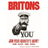 Join Britons Your Country's Army Retro Untersetzer, Lord Kitchener