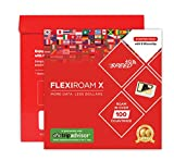 World Sim Mikrochip - Behalten Sie Ihre Sim-karte - 1GB Daten in 4G für 30 Tage - Mehr als 100 Ländern - Flexiroam X