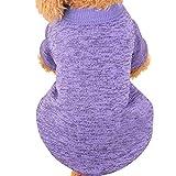EUZeo Pet Dog Puppy Sweater Fleece-Pullover Kleidung warme Strickjacke Kleiner Hund Kleine Katze Schönes Haustier Haustierbekleidung Hundebekleidung Katze Kleidung Katzenpullover Hundepullover