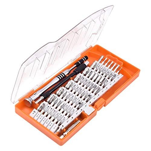 jieGREAT ??❄ Weihnachten Deko??❄ ,60 in 1 Schraubendreher Set Werkzeuge Reparatur Kit für Handy PC Tablet