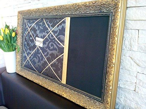 Pinnwand Memoboard Holzrahmen Prunkrahmen Spiegel Wanddeko Bild Wandbild Foto Galerie Tafel...
