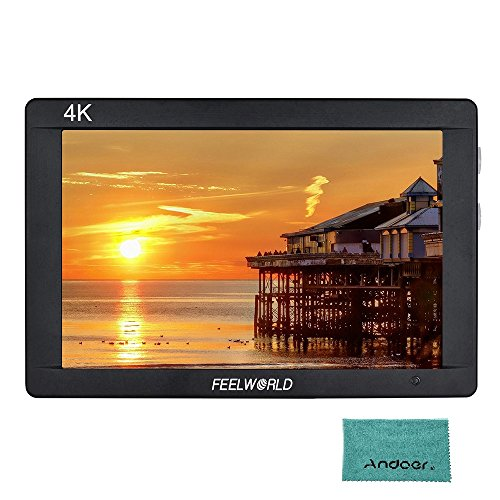 Preisvergleich Produktbild Feelworld F7S 7 Zoll 1920 * 1200 IPS Kamera Feld Monitor HD 3G-SDI Eingang Ausgang 4K 1200: 1 Hoher Kontrast für Canon Nikon Sony Panasonic DSLR